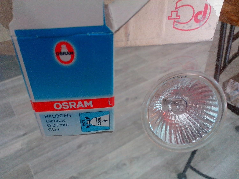 10 Pack OSRAM SYLVANIA #44890 FTD 20w 12v MR11 WFL36 Halogen Flood Light