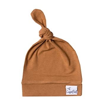 e56759118 Baby Beanie Hat Top Knot Stretchy Soft for Boy or Girl