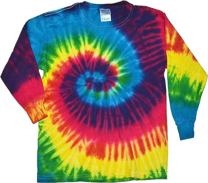 Rainbow Tie Dye Pineapple Unisex Baby Long Sleeves Cotton Climbing Clothing