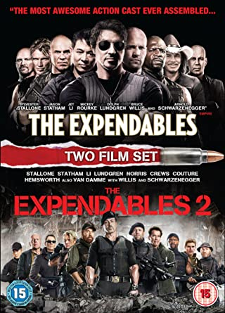e11a7faf The Expendables / The Expendables 2 [DVD] [2017]: Amazon.co.uk ...