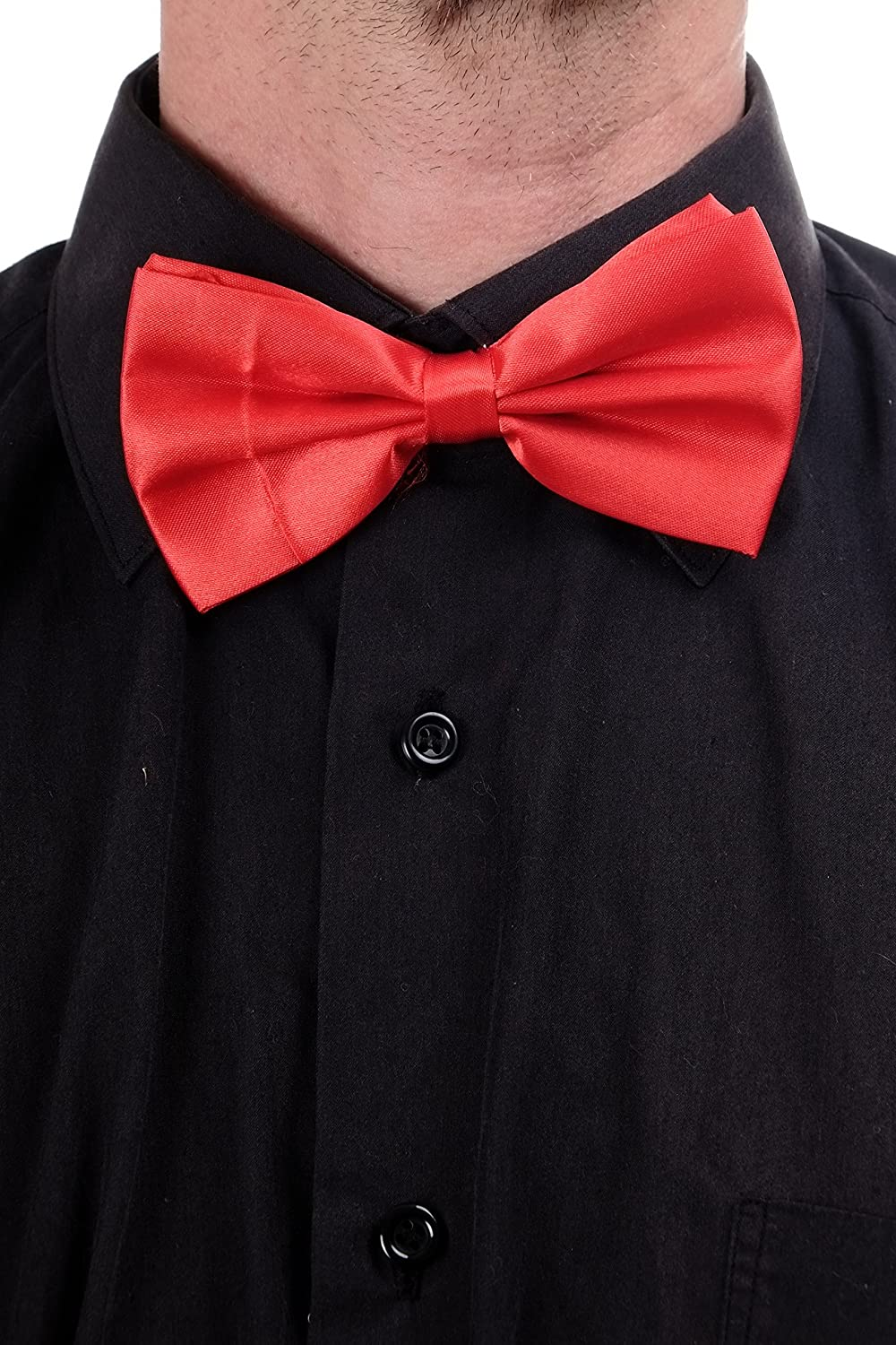 dressmeup Dress ME UP - Corbata Mariposa Bowtie corbatín Rojo ...