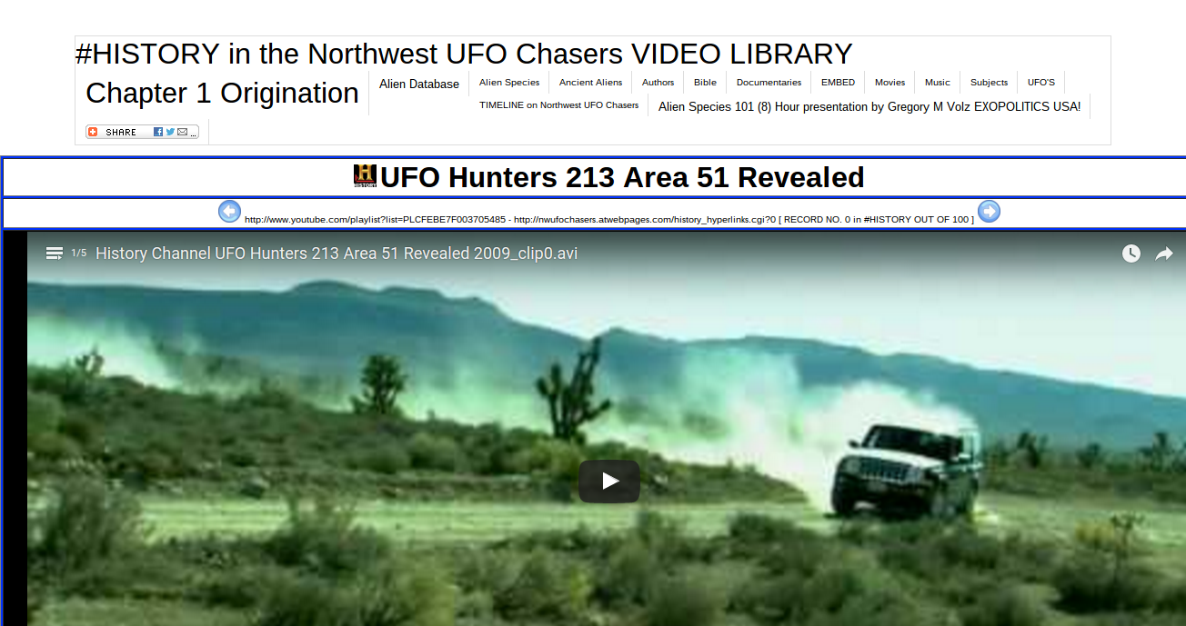 Amazon com: Northwest UFO Chasers Video Library, Book & Blog