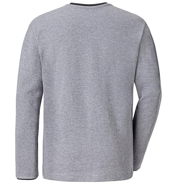 JAN VANDERSTORM Herren Sweatshirt TERRACNE gute Qualität mit 70 %  Baumwollanteil. Shirt erhältlich bis Größe 74(5XL). Hergestellt in der EU:  Amazon.de: ...