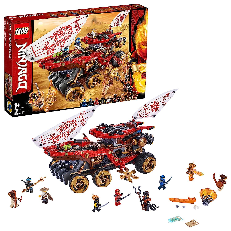 レゴ(LEGO) ニンジャゴー 陸上戦艦バウンティ号 70677