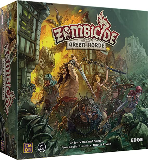 Asmodée - Zombicide Black Plague : Green Horde - 8435407619999: Amazon.es: Juguetes y juegos