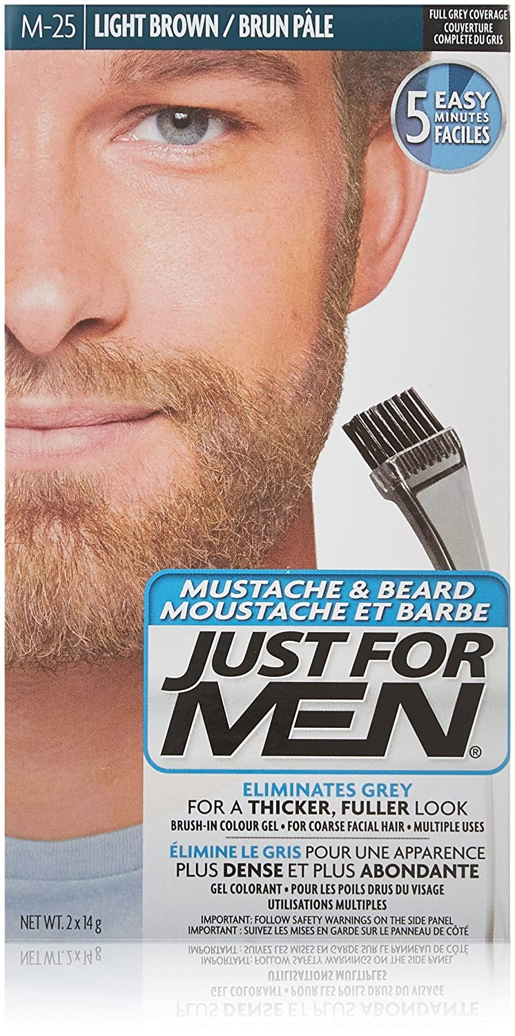 Just For Men AutoStop Men's Comb-In Hair Color, Blond
