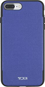 TUMI Coated Canvas Co-Mold Case for iPhone 7 Plus - Blue Coated Canvas