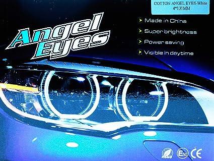 KIT AROS OJOS DE ANGEL LED COTTON 4x 131MM CANBUS E46 E39 E38 E36 ...