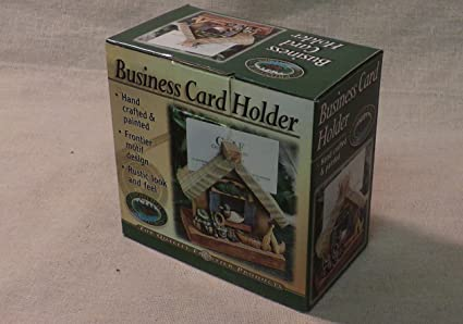 Amazon business card holder hunting and fishing theme business card holder hunting and fishing theme colourmoves