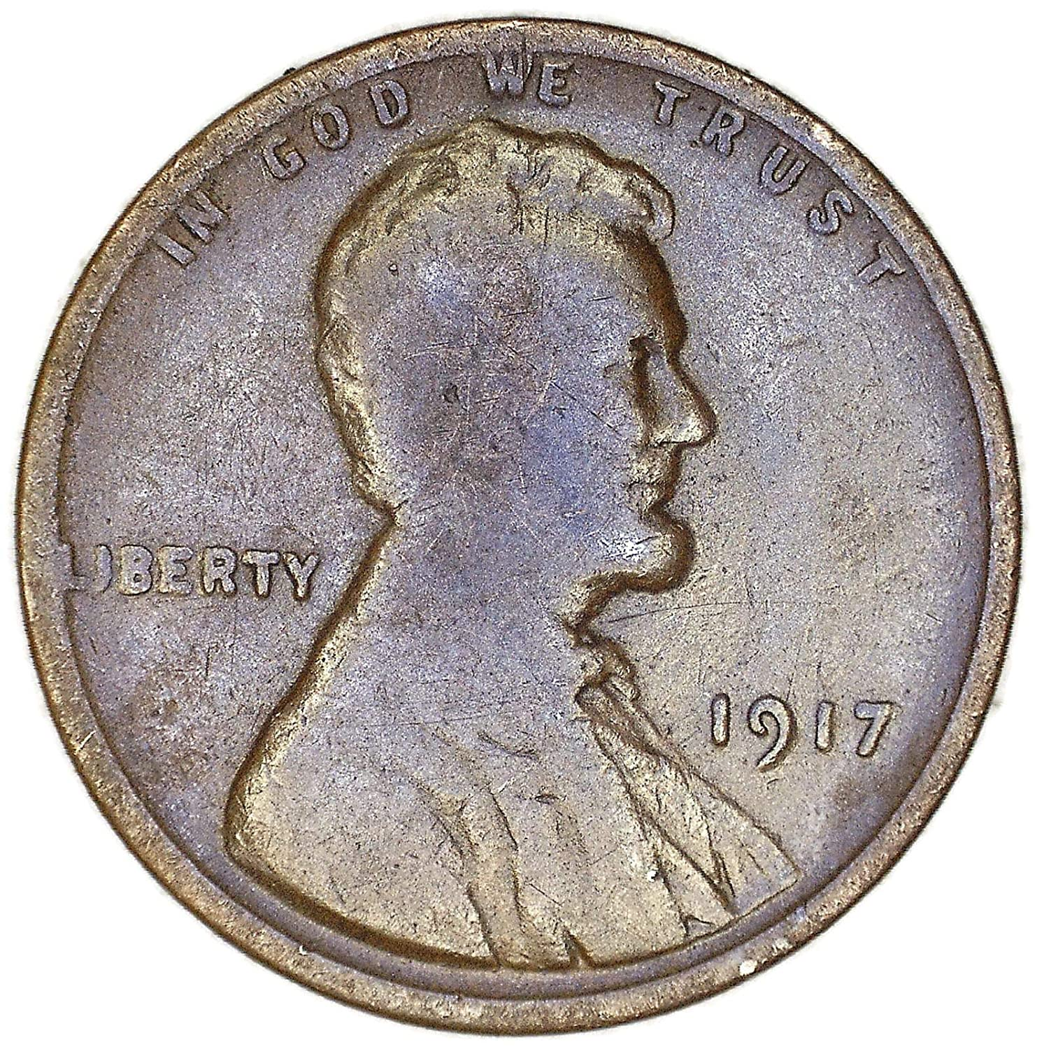 1917 P Lincoln Wheat Cent Penny   *AG OR BETTER*   **FREE SHIPPING**