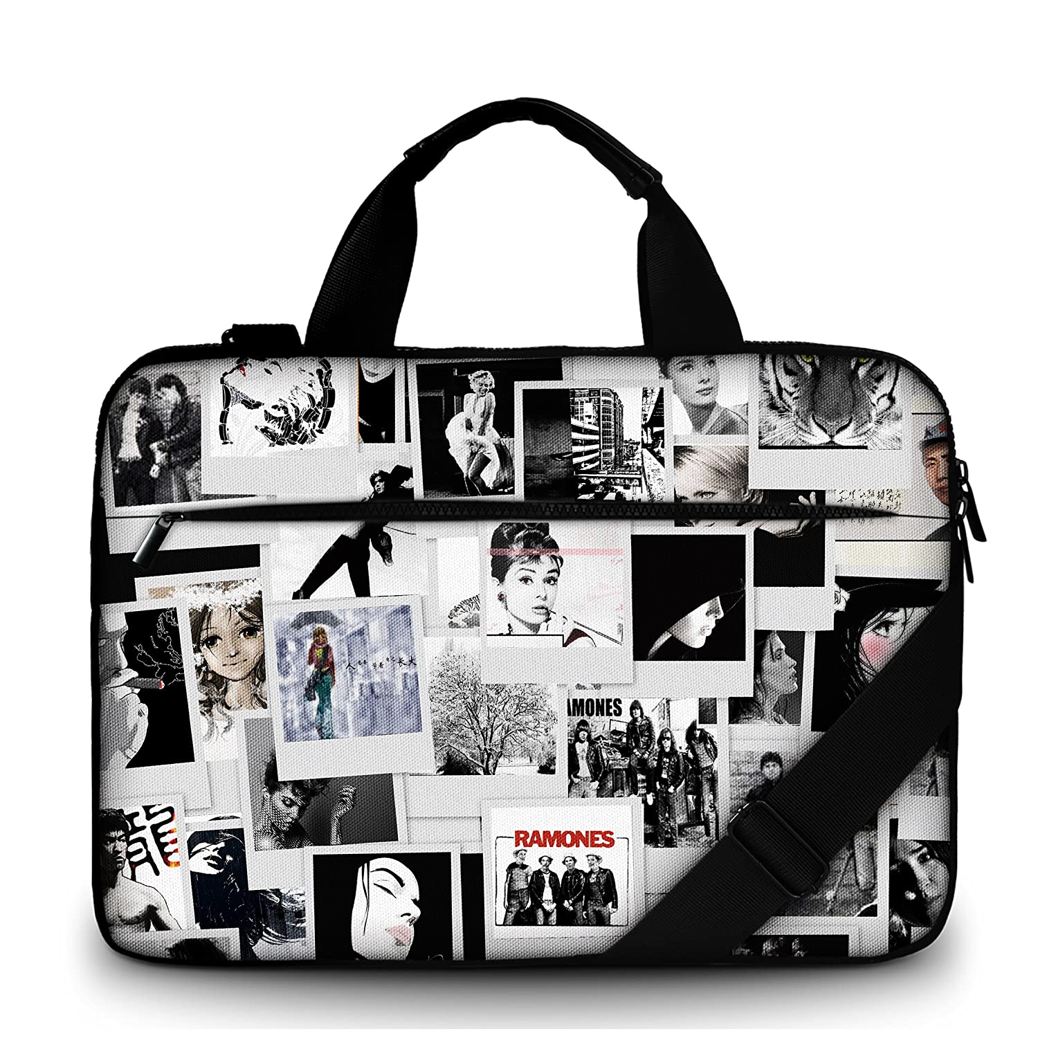 Amazon.com: MySleeveDesign 17.3 Inch Canvas Laptop Carry Bag Notebook Case with Shoulder Strap: Computers & Accessories