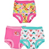Sesame Girls' Toddler Street 3pk Potty Training Pant, Assorted Elmo, 3T