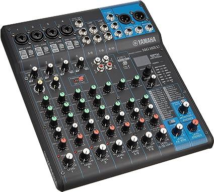 Yamaha Mg10 X U Table De Mixage Audio Professionnel Avec Effets