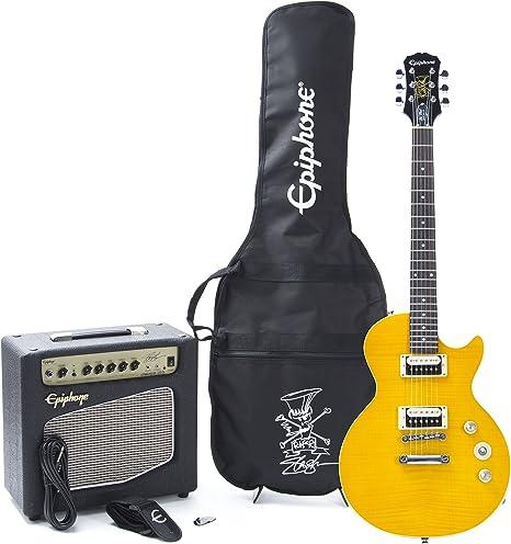 Epiphone Slash AFD Les Paul Performance Pack · Set guitarra eléctrica: Amazon.es: Instrumentos musicales