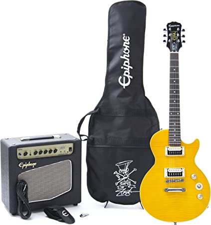 Epiphone Slash AFD Les Paul Performance Pack · Set guitarra eléctrica: Amazon.es: Instrumentos musicales