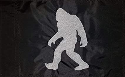 Amazon com : Devil Woman Flags Bigfoot Black with Silver ATV