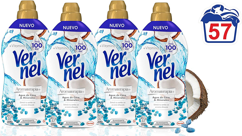 Vernel Aromaterapia Suavizante para la ropa Concentrado Coco ...