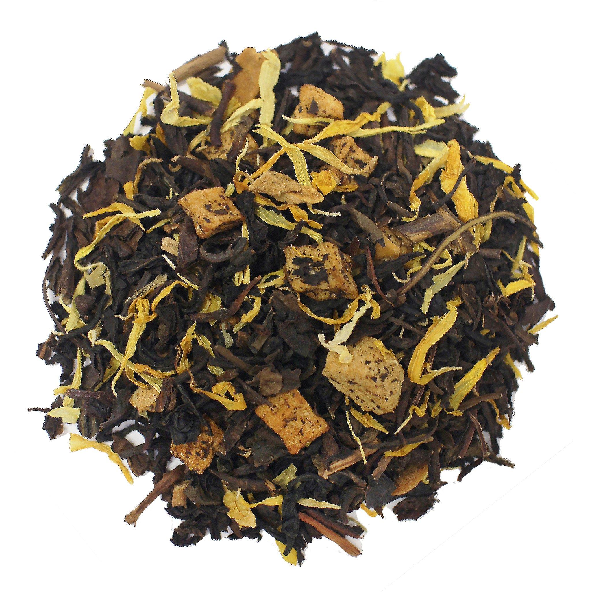 The Tea Farm - Peach Oolong Fruit Tea - Taiwan Loose Leaf Oolong Tea (16 Ounce Bag) by The Tea Farm