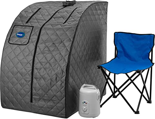 Durasage Lightweight Portable Personal Steam Sauna Spa