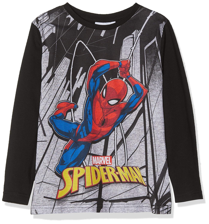 T-Shirt Bambino Marvel Cityscape