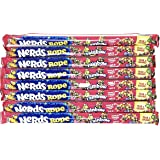 Nerds Rope, Rainbow Candy Flavor - Pack of 8
