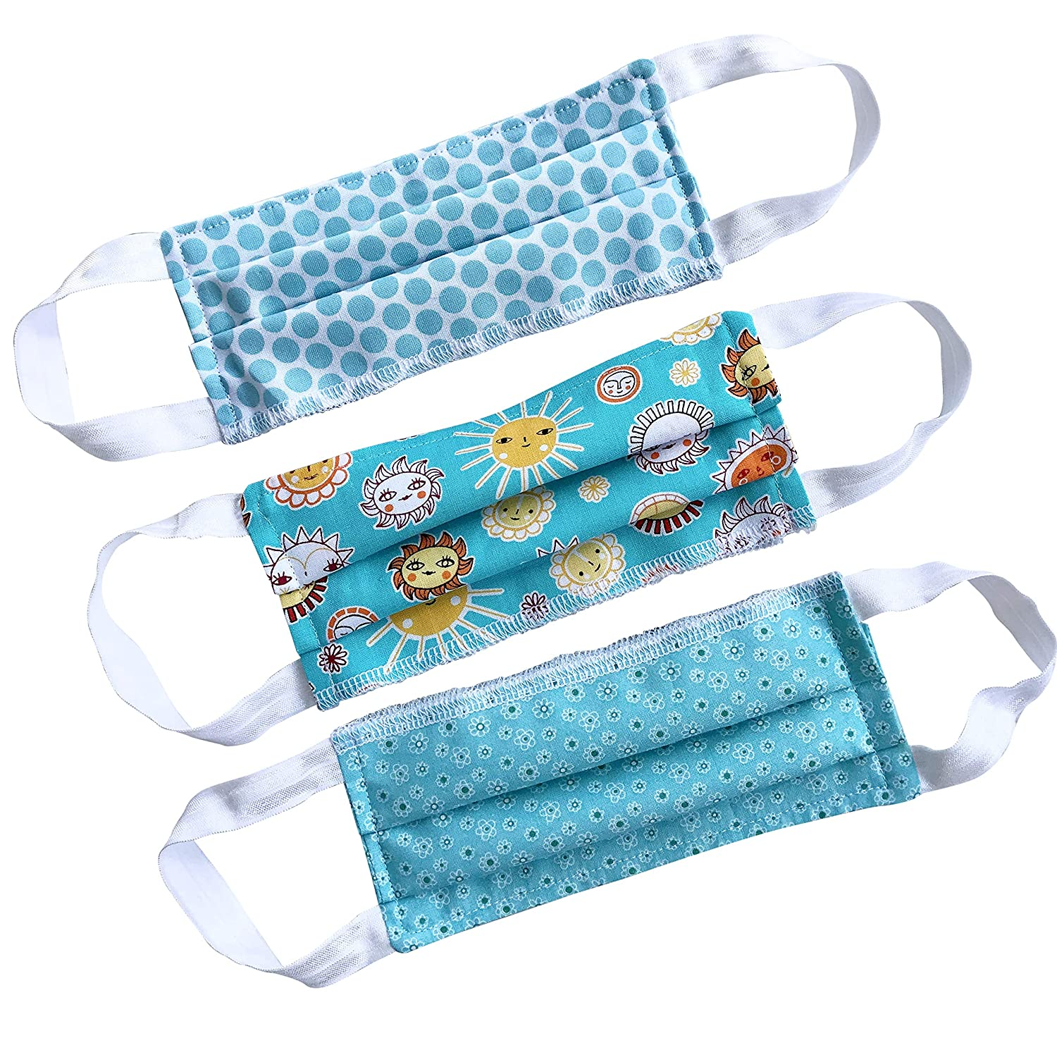Amazon Com Set Of 3 Turquoise Pattern Petite Teen Or Woman Handmade Washable Reusable Pleated Cotton Face Cover Shield Handmade See more of miss petite & miss petite teen republica dominicana on facebook. amazon com