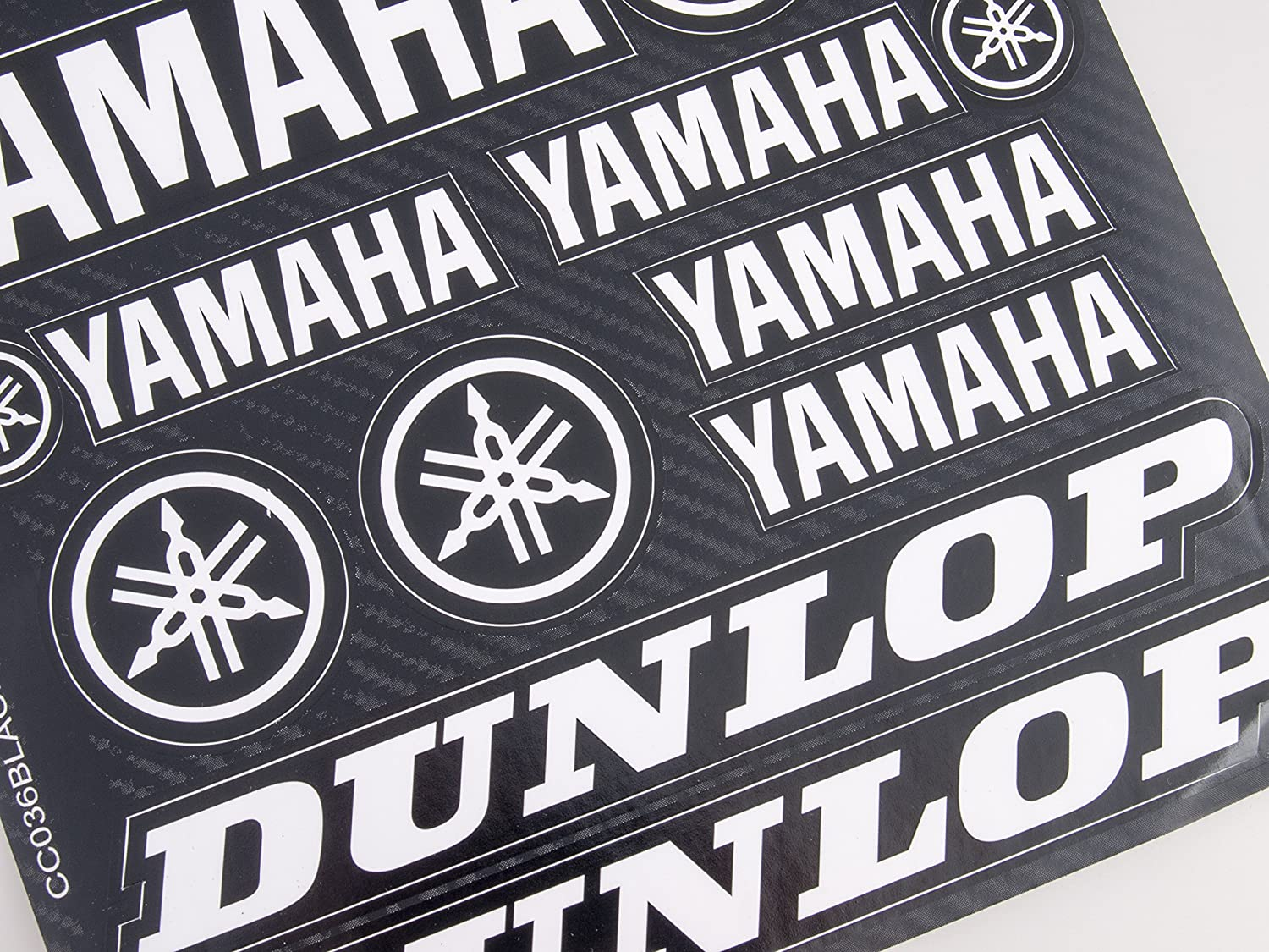 Yamaha Stickers Decals 30x20cm vinyl with extra protection on top Blue