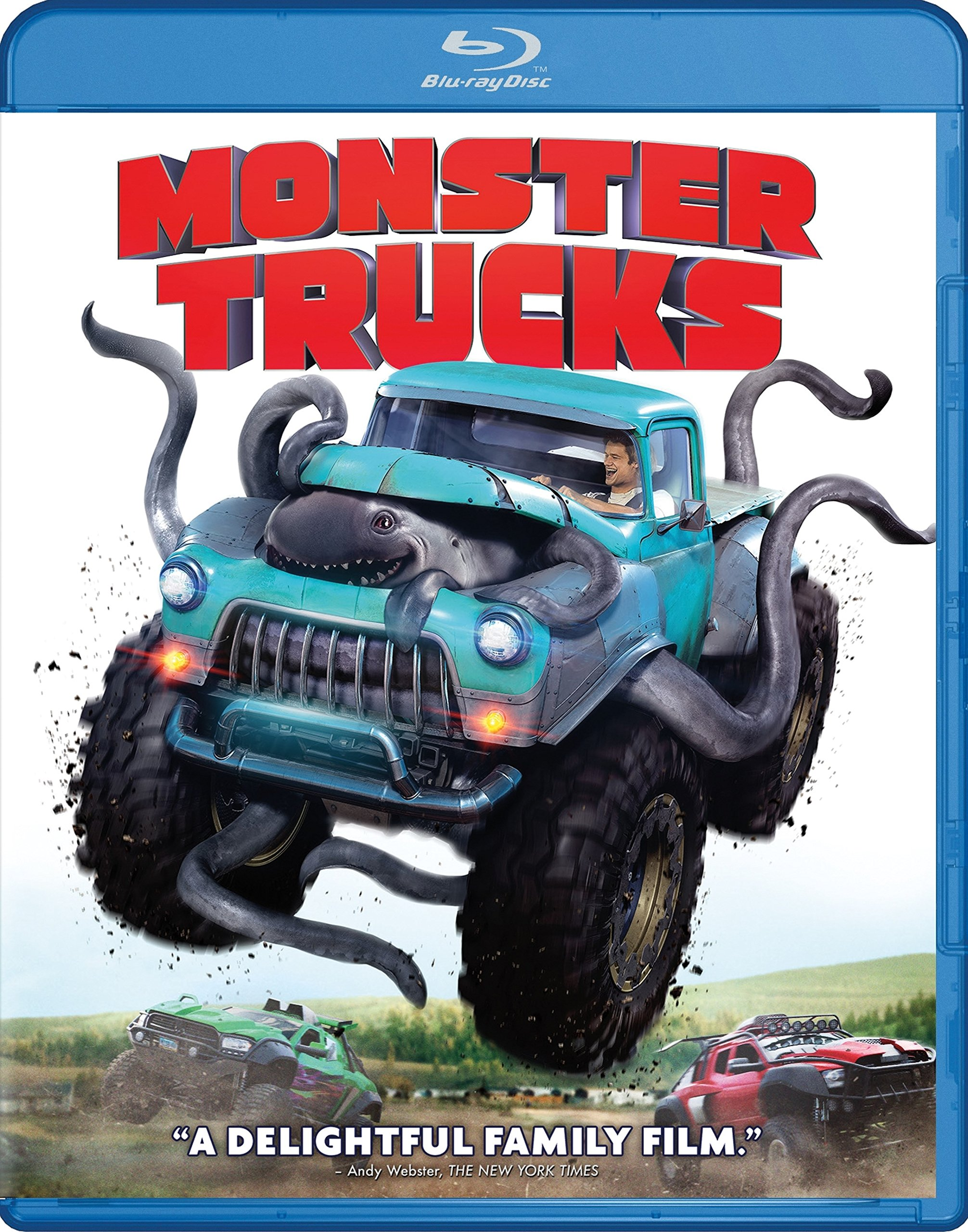 Blu-ray : Monster Trucks (With DVD, Digitally Mastered in HD, 2 Disc)