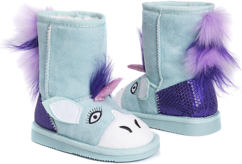 MUK LUKS Kids Rainy Unicorn Boots Fashion