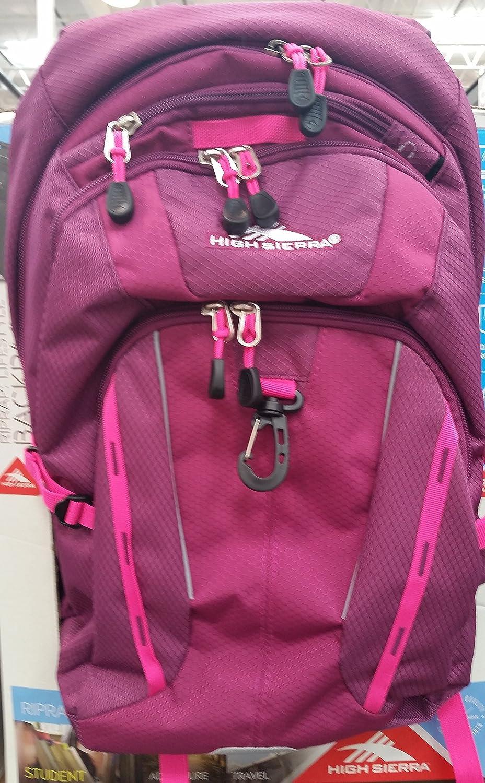 High Sierra Riprap Lifestyle Backpack-Pink