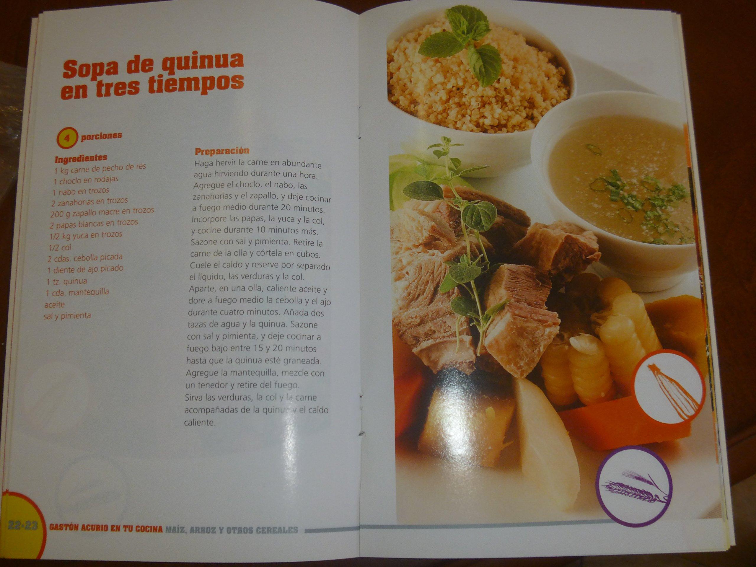 Maiz, Arroz Y Otros Cereales By Gaston Acurio: Gaston Acurrio: 9786124032332: Amazon.com: Books