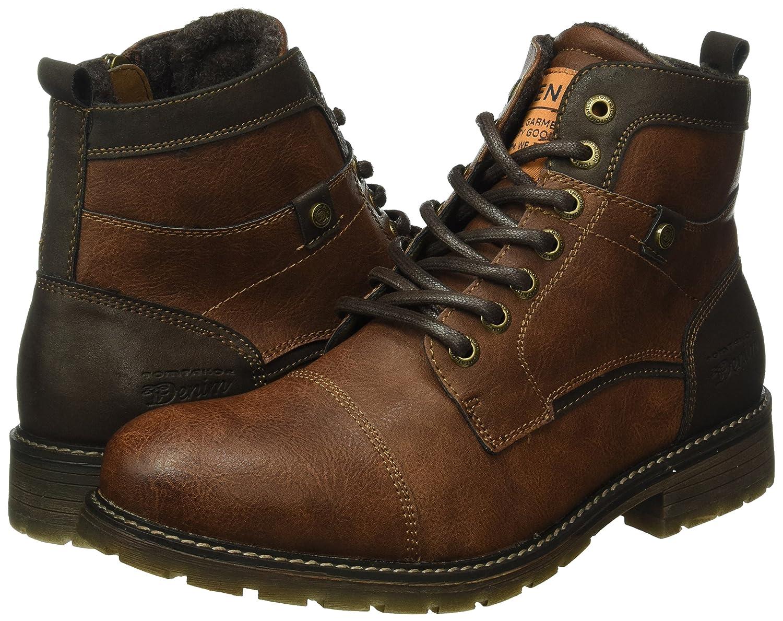 1685901, Stivaletti Uomo, Marrone (Rust), 44 EU Tom Tailor