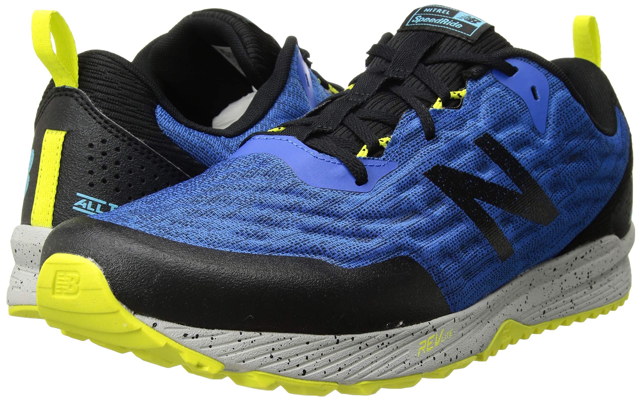 Choose SZ//color Grey//Blu New Balance Men/'s Nitrel V3 Running Shoe