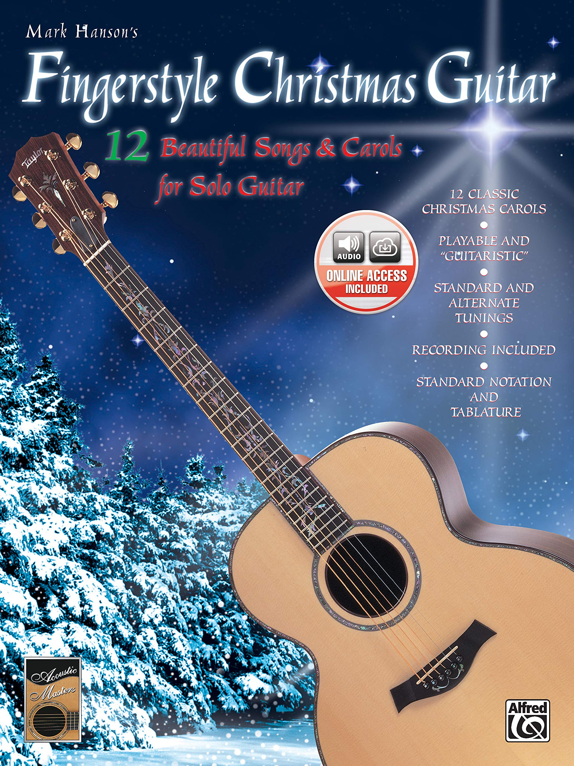 Fingerstyle Christmas Guitar: 12 Beautiful Songs & Carols for Solo ...