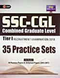 SSC - CGL Combined Graduate Level Tier I - 35 Practice Papers 2018