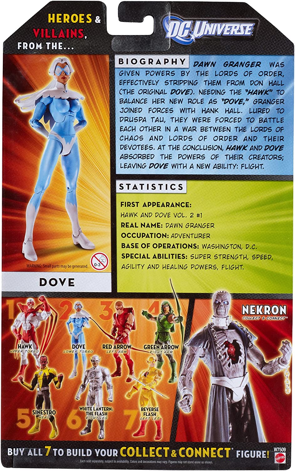 Mattel DC Universe Classics 20 Dove 6-Inch Action Figure Nekron Series Part 2