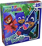 PJ Masks Foam Puzzle Mat 25 Pieces By Cardinal