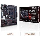 ASUS Prime B350M-E AMD Ryzen AM4 DDR4 HDMI DVI VGA M.2 USB 3.1 uATX B350 Motherboard