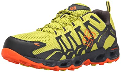 Columbia Men's Ventrailia Trail Shoe, Zour/Blaze, ...