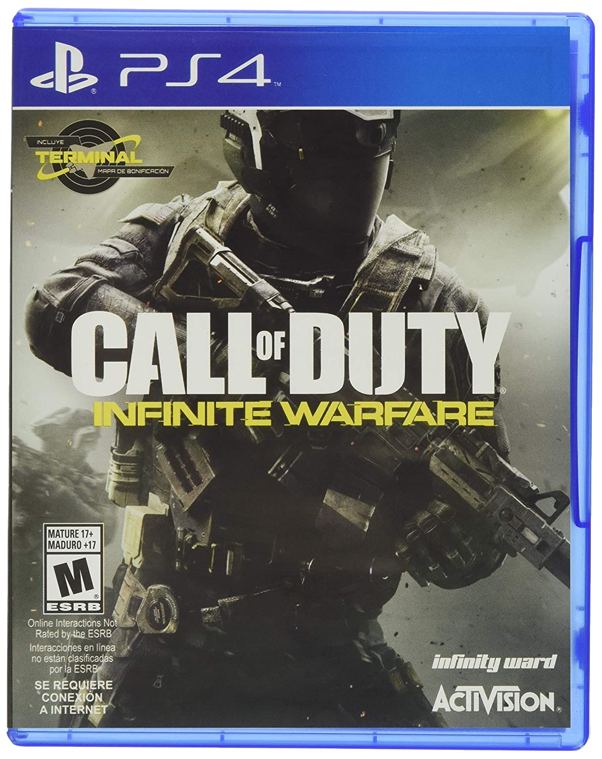 Amazon Com Call Of Duty Infinite Warfare Standard Edition Playstation 4 Video Games