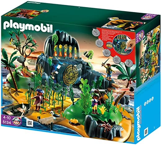 Playmobil 5134 Abenteuerschatzinsel Amazonde Spielzeug