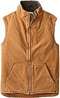 Carhartt Men's Tall Sherpa-Lined Sandstone Mock-Neck Vest V33