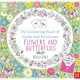 The National Trust: Colouring Cards and Envelopes - Flowers and Butterflies (Colouring Books of Cards and Envelopes)