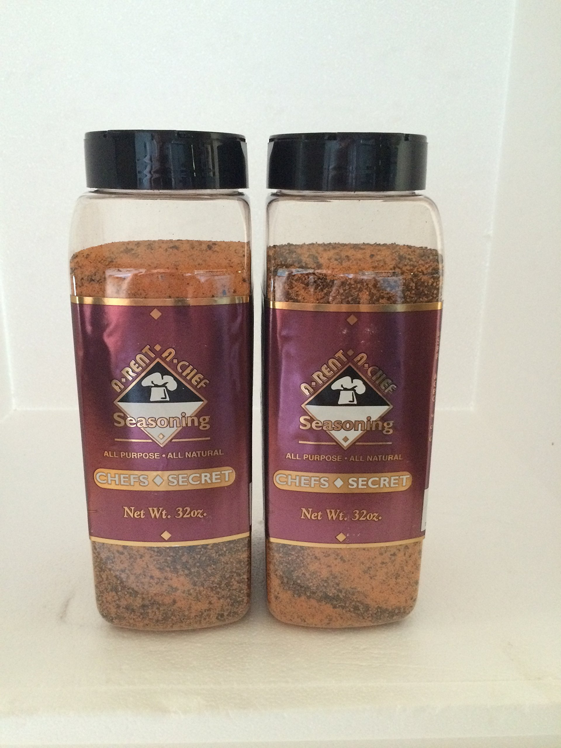 A-Rent-A-Chef All Natural ''Chef Secret 32/oz.'' Seasoning 2 Pack