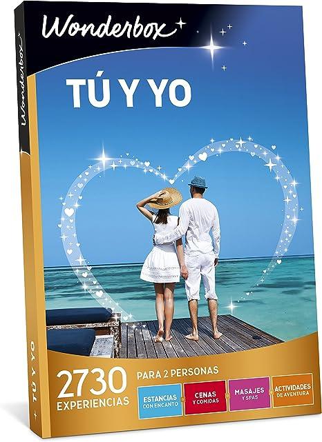 WONDERBOX Caja Regalo - TÚ Y YO - 2.730 experiencias para Dos Personas: Amazon.es: Deportes y aire libre