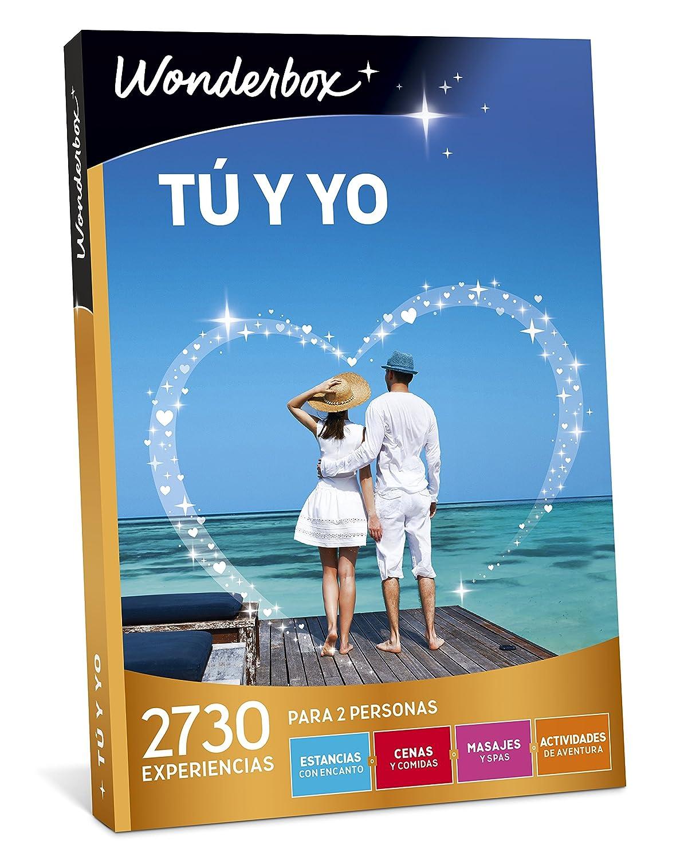 WONDERBOX Caja Regalo -TÚ Y YO- 2.730 experiencias para Dos Personas: Amazon.es: Deportes y aire libre