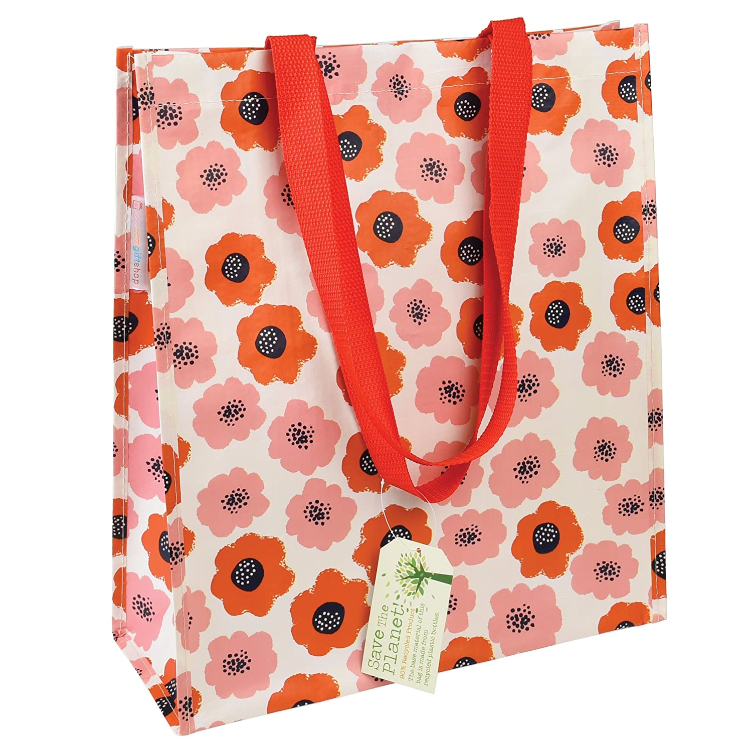 dotcomgiftshop Reusable Eco-friendly Shopper Bags - Choice Of Floral Design (Daisy) 25642