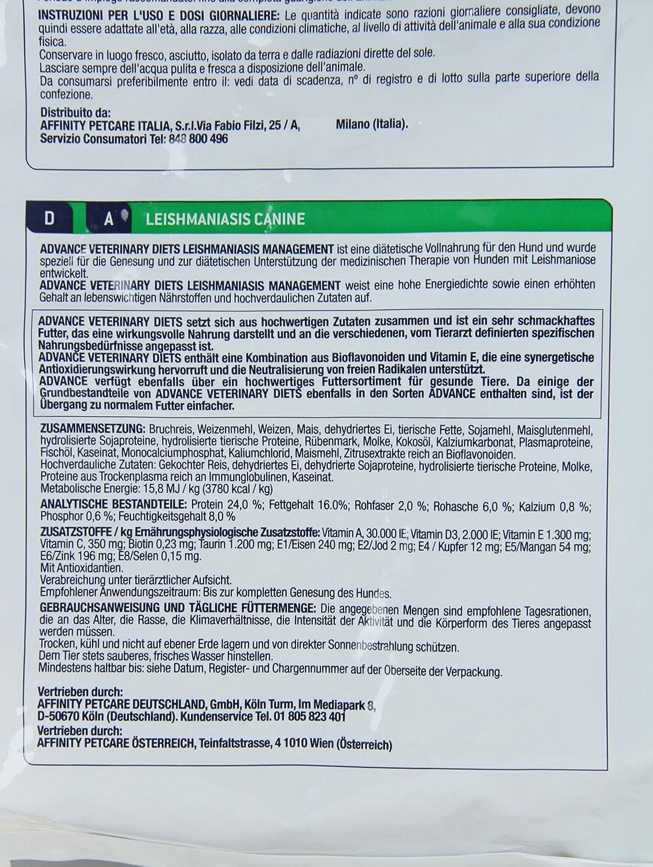 Advance Leishmaniasis 10.0 kg: Amazon.es: Productos para ...