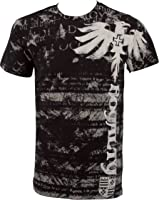"""Royalty"" Dragon Short Sleeve Crew Neck Cotton Mens Fashion T-Shirt"