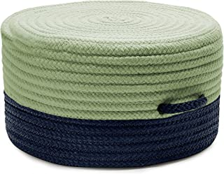 product image for Color Block Pouf FR61 Ottoman